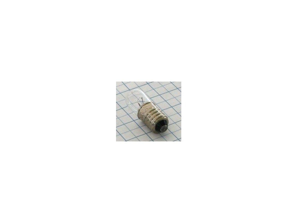 Žiarovka 12V 100mA E10 E3353  10x28mm