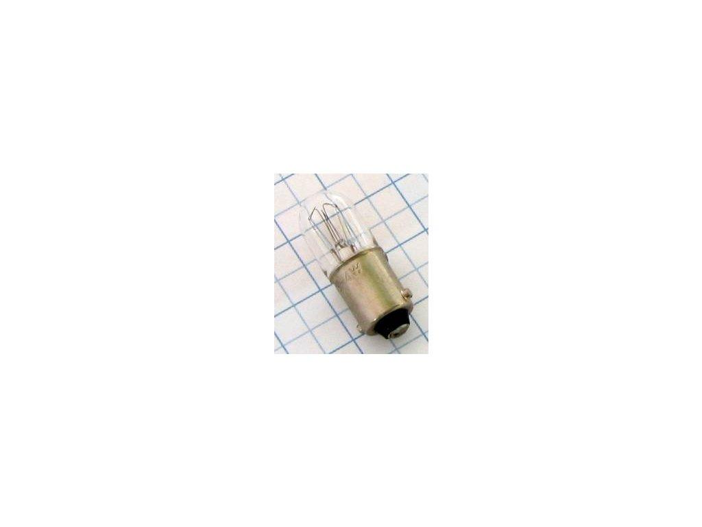 Žiarovka 6,3V 250mA BA9S B3048  10x28mm