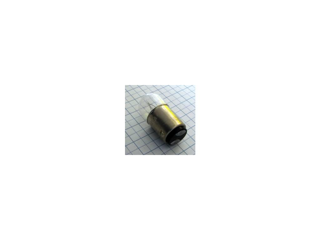 Žiarovka 60V 3W BA15D B3531  16x35mm