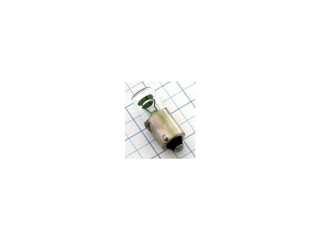 Tlejivka 220V 1,5mA BA9S N86839 plast 9x25mm