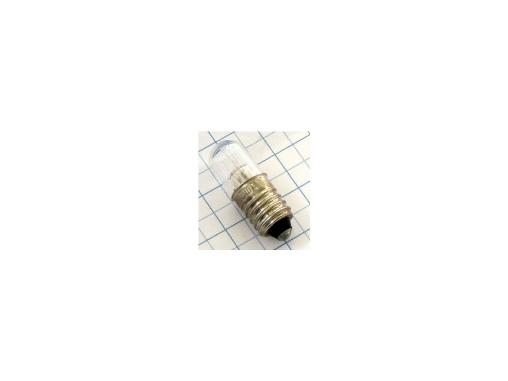 Tlejivka 220V 1,5mA E10 N86844 plast  10x28mm