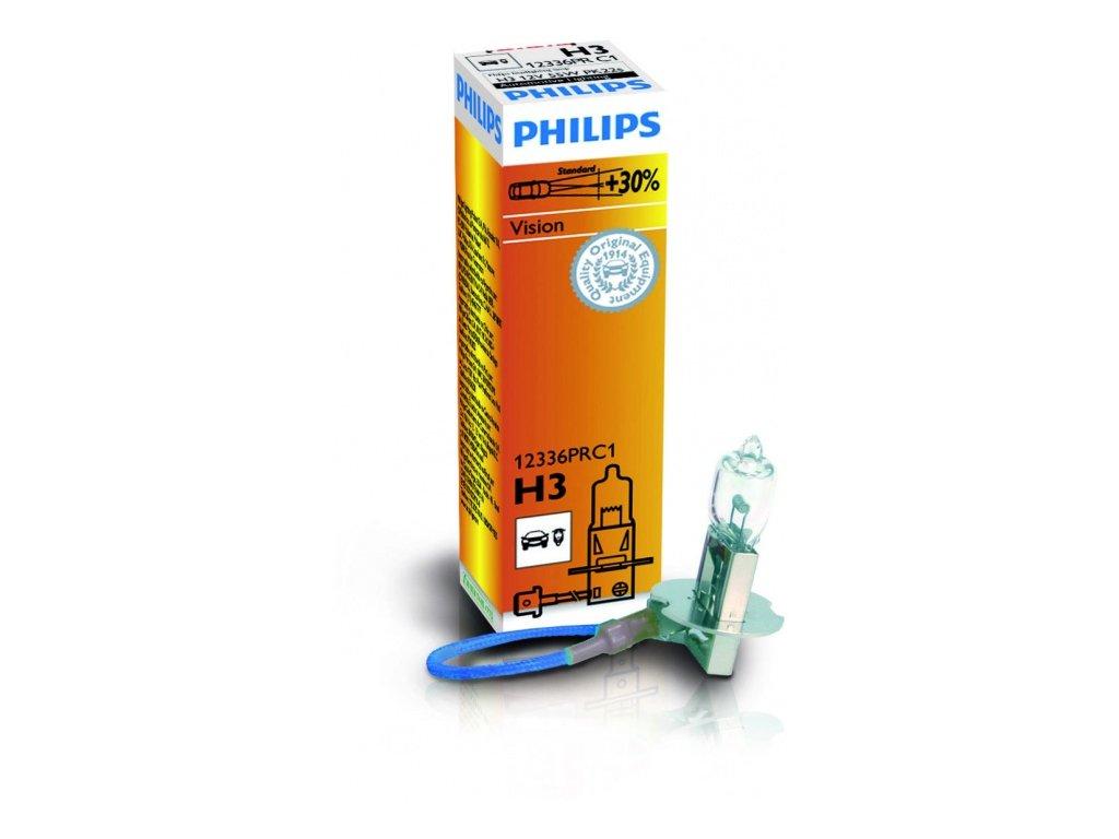 PHILIPS Žiarovka 12V H3 55W PK22s Premium