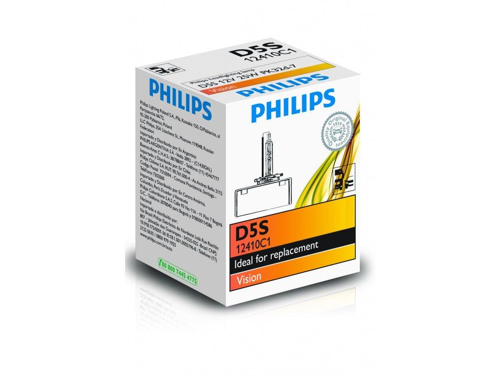 PHILIPS Výbojka xenónová D5S 12V 25W Vision
