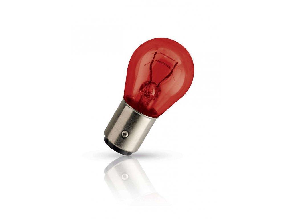 Žiarovka 12V PR21/5W 21/5W BAW15d červená