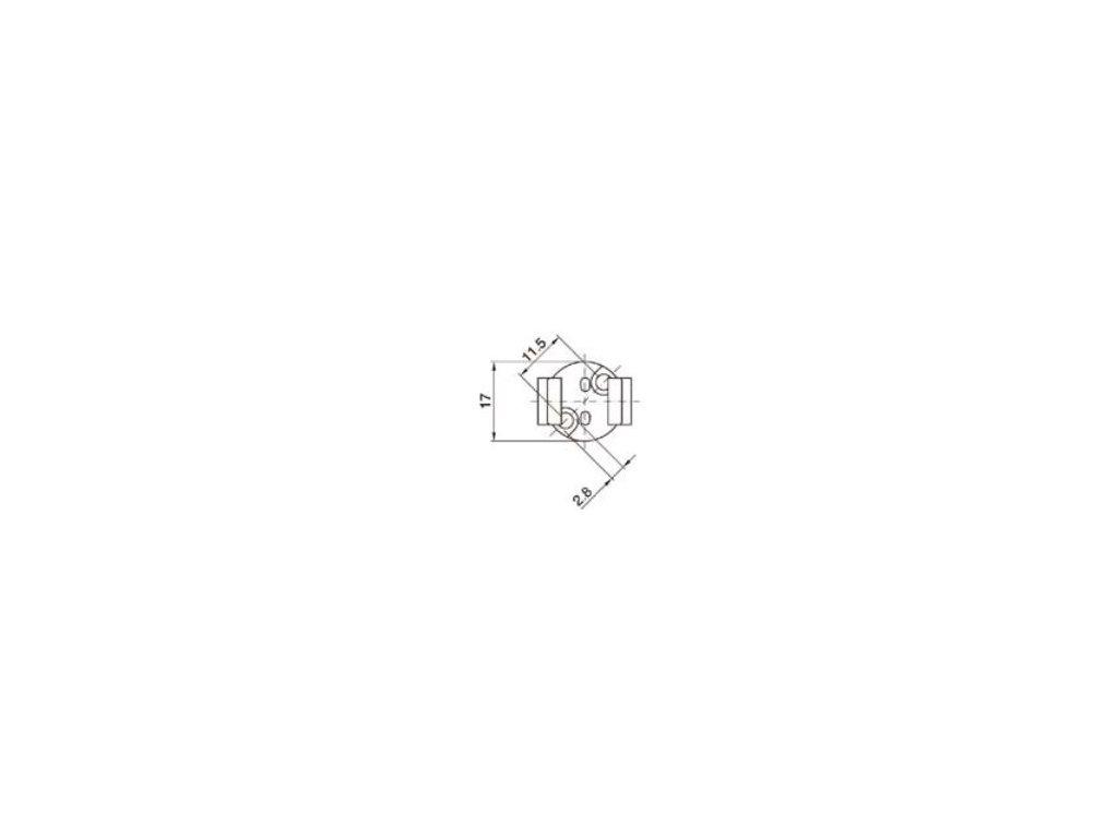 Objímka GU5,3 DO 5455