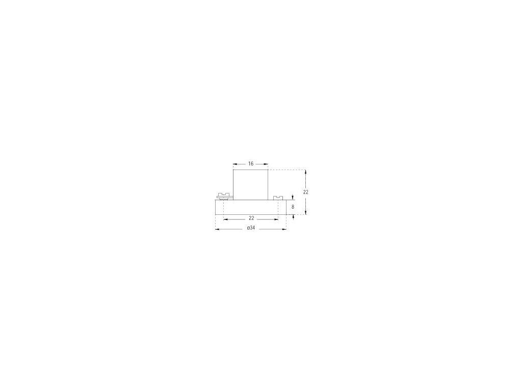 Orbitec Objímka E10 DO 9905 plast
