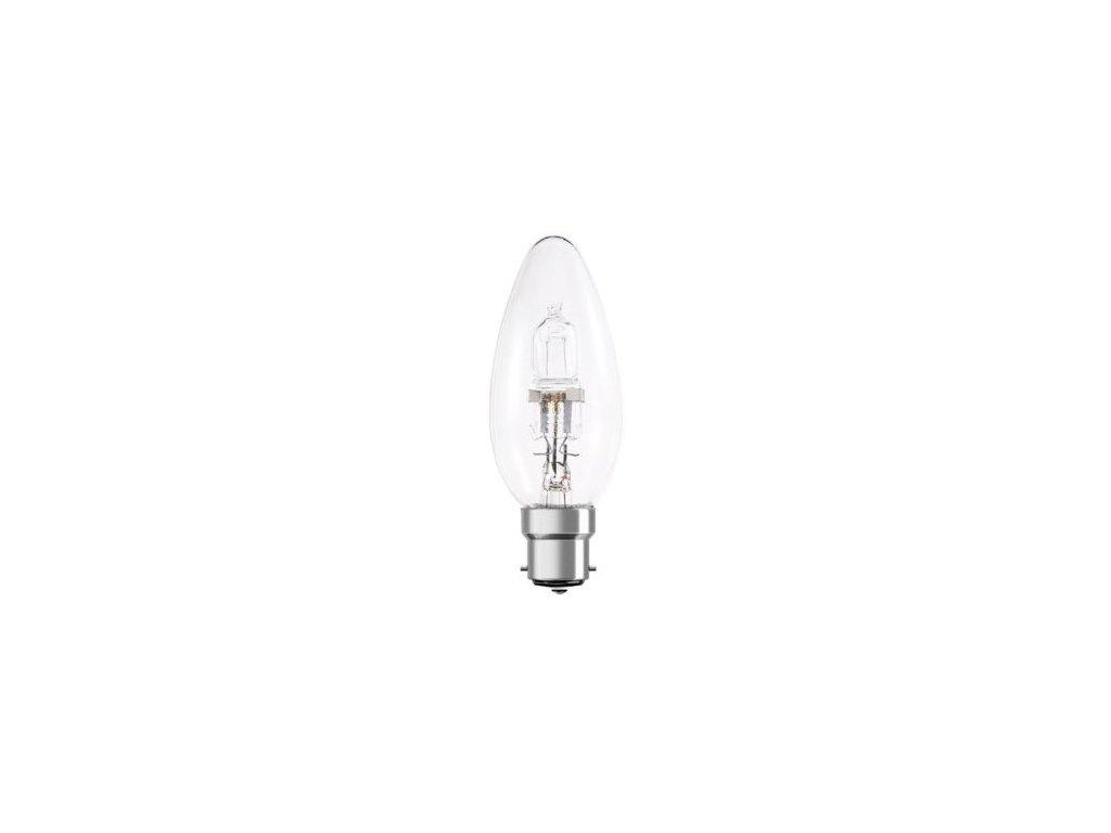 Žiarovka 240V 42W B22D HFL1520 candle 35x93mm