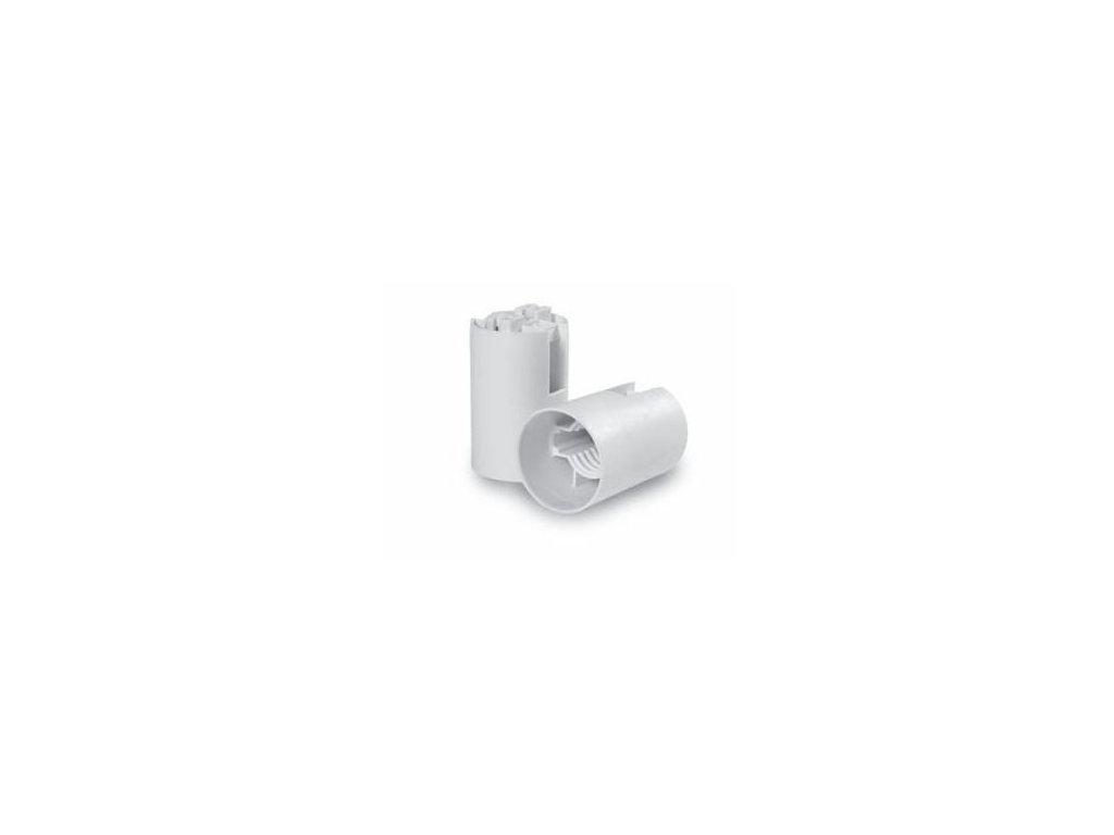 Objímka E12 DO 2208 plast biela