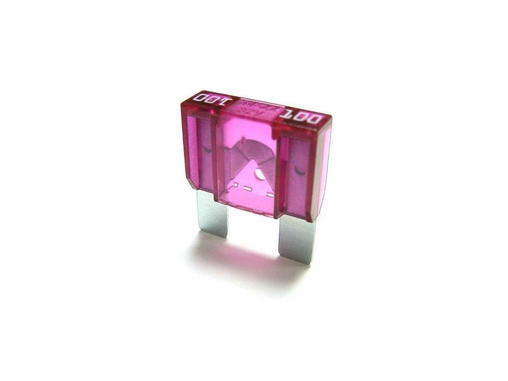 Maxi-nožová poistka 100A - fialová