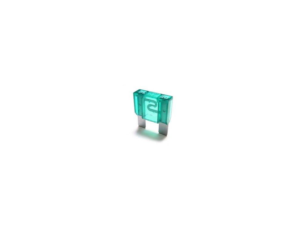 Maxi-nožová poistka 30A - zelená