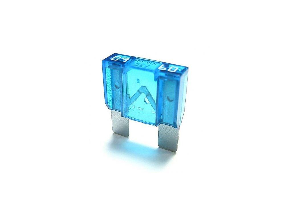 Maxi-nožová poistka 60A - modrá