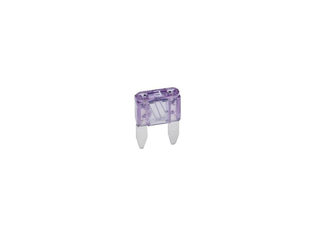 ELED Mini-nožová poistka 3A - fialová