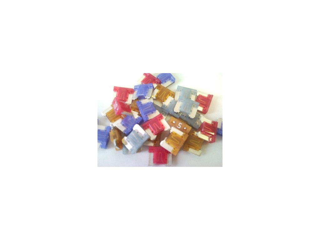 MINI-nízka poistka 15A - modrá