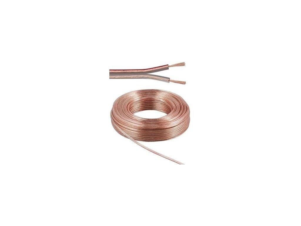 Kábel dvojžilový reproduktorový 1,5mm