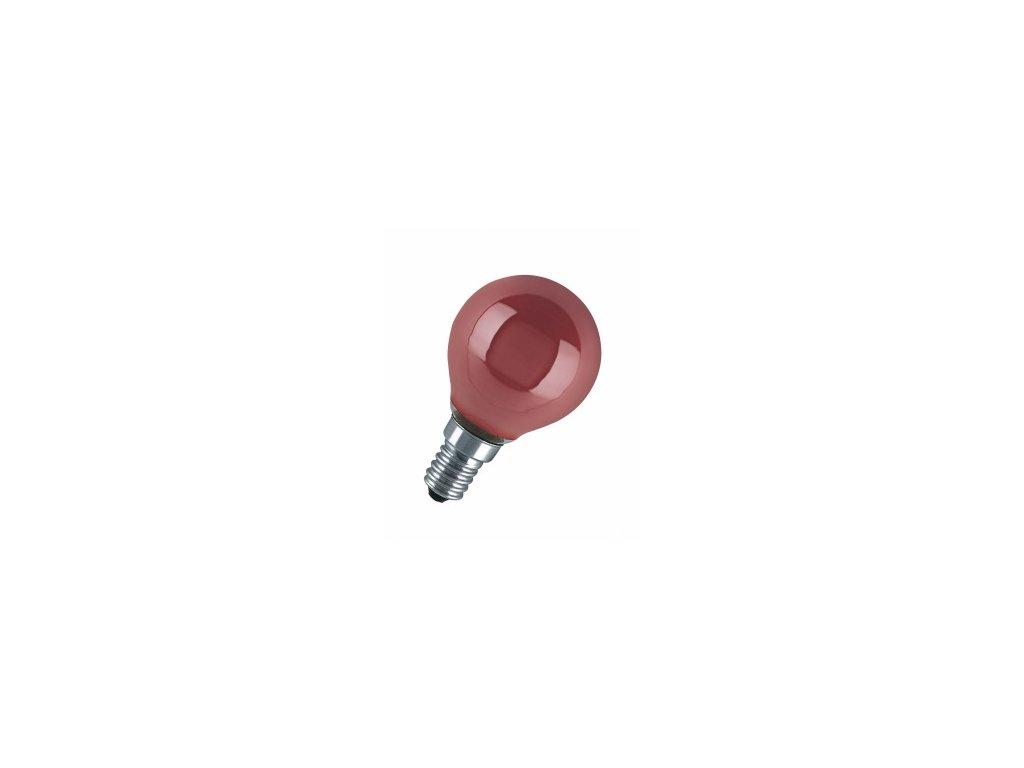 NARVA BEL Žiarovka 240V 40W E14 iluminačná-červená 46x75mm