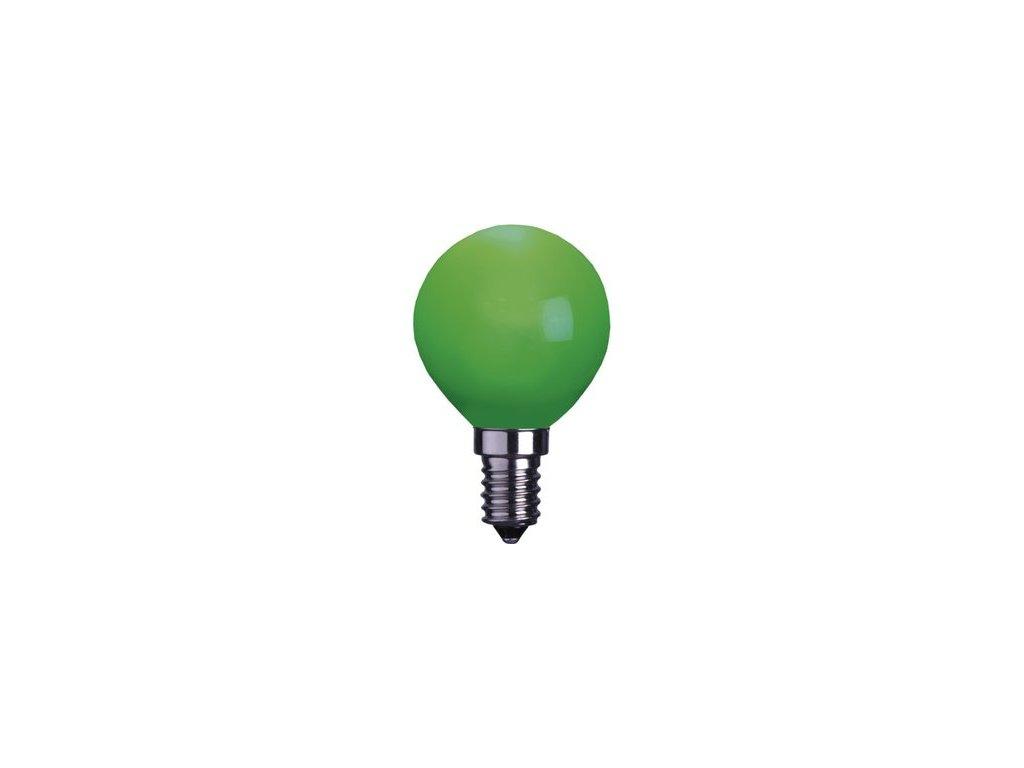 Žiarovka 240V 40W E14 iluminačná-zelená 46x75mm