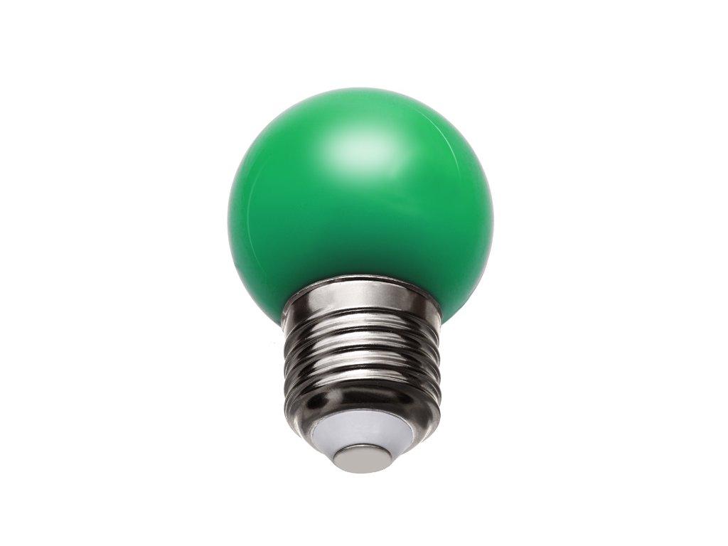 Žiarovka 240V 40W E27 iluminačná-zelená 46x75mm