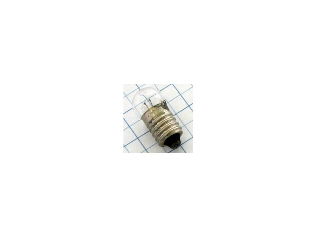Žiarovka 6V 100mA  E10 11x23mm