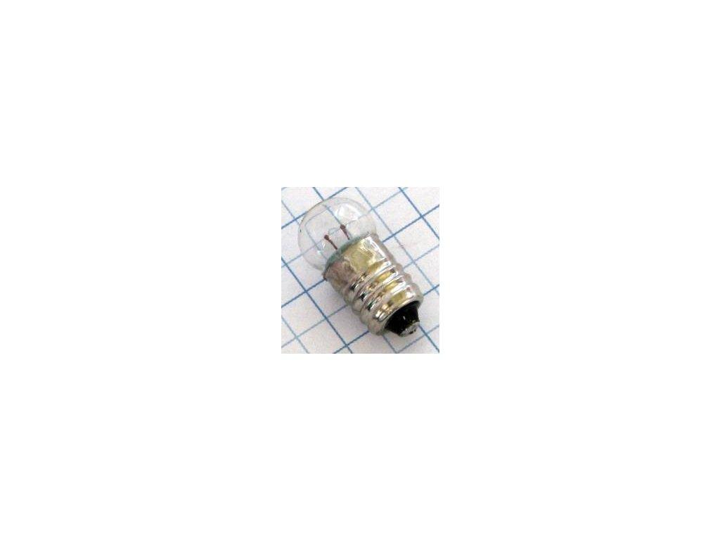 Žiarovka 6,3V 300mA E10 11x23mm