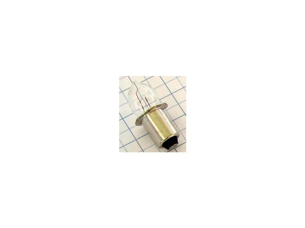 Žiarovka 4,8V 500mA P13,5S kryptón