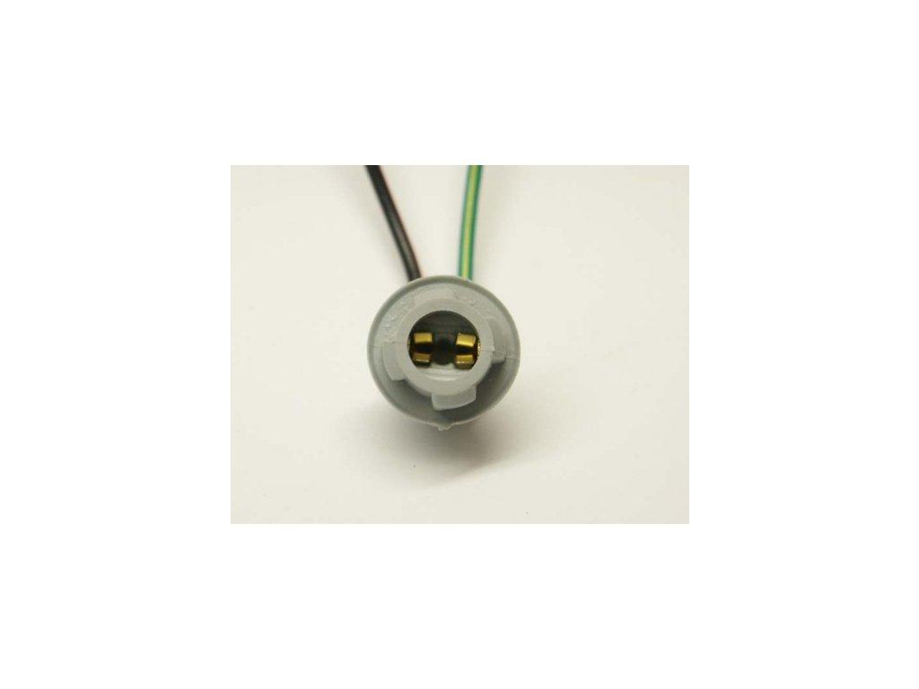Držiak žiarovky W2,1X9,5d T10/T13/T15 so 4 zámkami