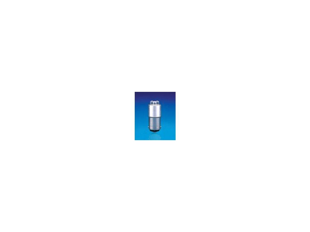 NARVA BEL LED 24V  BA15d modrá 16x35mm