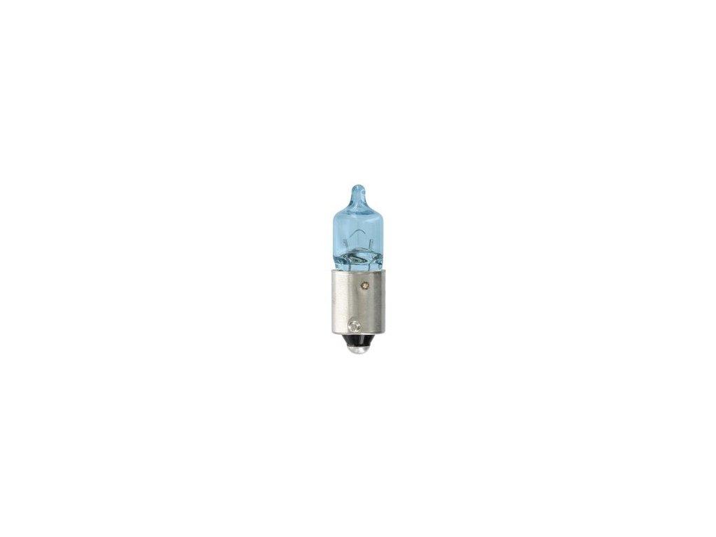 Žiarovka 12V 6W BAX9s H6W modrá