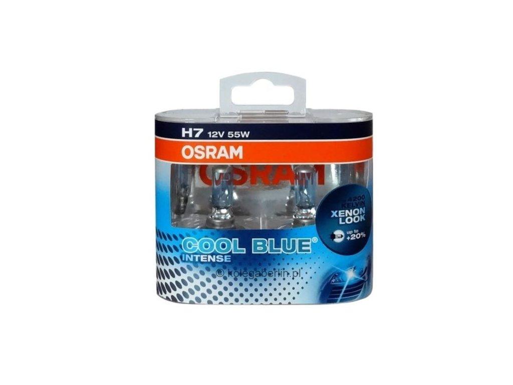 Žiarovka 12V 55W H7 PX26d-Cool Blue Intense Box-2ks