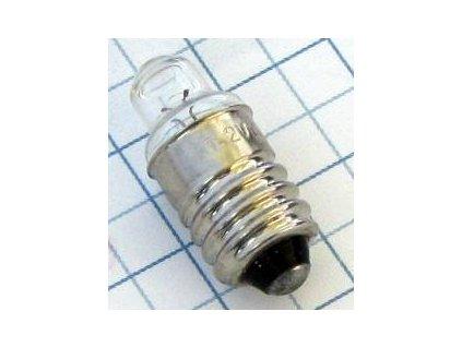 Žiarovka 1,2V 220mA E10 E3649 šošovka 10x24mm
