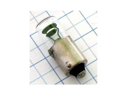 Tlejivka 110V 1,5mA BA9S N8681 10x26mm plast