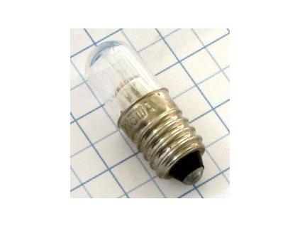 Tlejivka 220V 1,3mA E10 N75844 sklo 10x28mm
