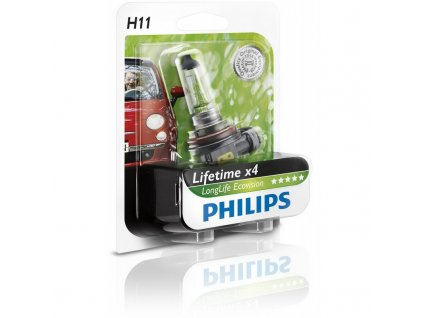 Philips LongerLife H1/12V 55W P14,5s - blister 1ks