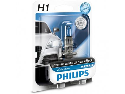 Philips WhiteVision H1/12V 55W P14,5s - blister 1ks