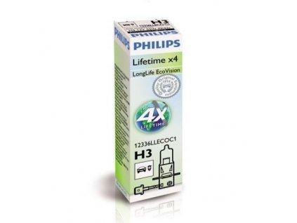 Philips LongerLife H3/12V 55W PK22s