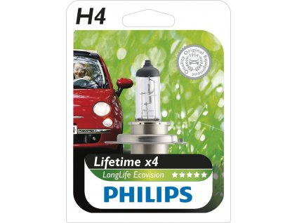 Philips EcoVision H4/12V 60/55W P43t
