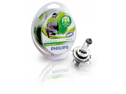 Philips EcoVision H4/12V 60/55W P43t - set 2ks