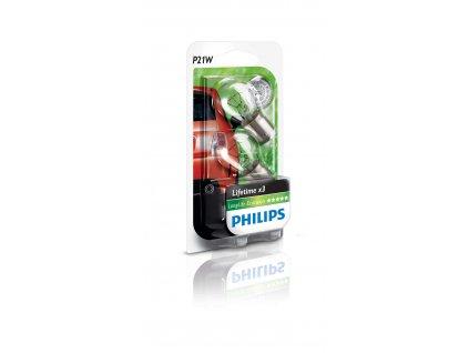 Philips EcoVision 12V 21W BA15s P21W - set 2ks