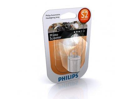Philips Premium Moto 12V 35/35W S2 Ba20d