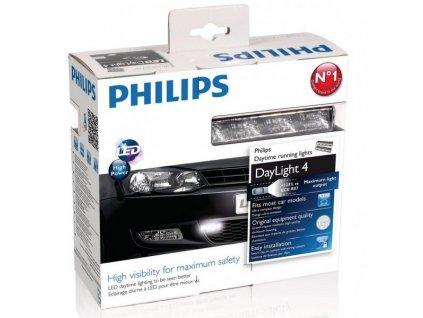 PHILIPS LED denné svetlá 12V 2x3,5W - 9LED- 6000K