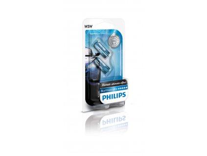 Philips BlueVision 12V 5W W2,1x9,5d W5W -blister2ks