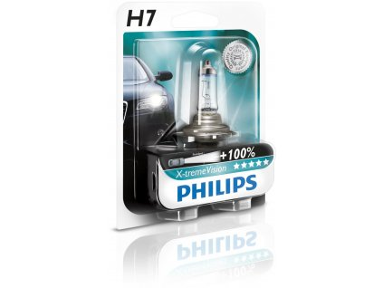 Philips X-tremeVision H7/12V 55W P26d -blister 1ks