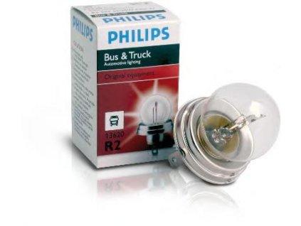 Žiarovka 24V 55/50W P45t R2 Philips