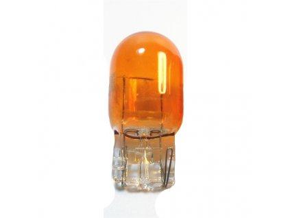 Žiarovka 12V 21/5W W3x16q celoskl. - oranžová