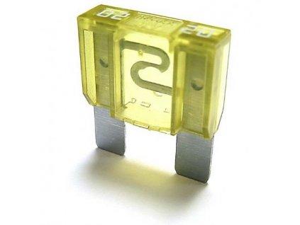 Maxi-nožová poistka 20A žltá