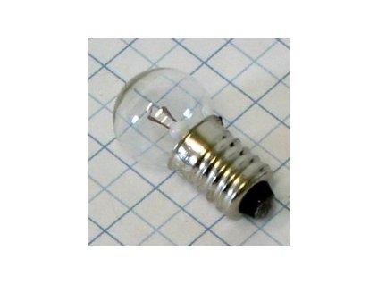 Žiarovka 6V 0,5A E10 cyklo 15x29mm