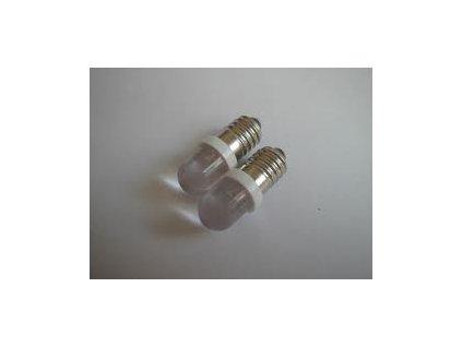 LED 12V E10 biela 9x26mm