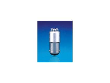 LED 24V BA15d biela 16x35mm