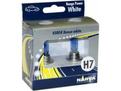 Narva Range Power White H7/12V 85W PX26d Twin Set