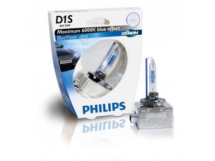 Výbojka xenónová D1S 85V 35W BlueVision Ultra