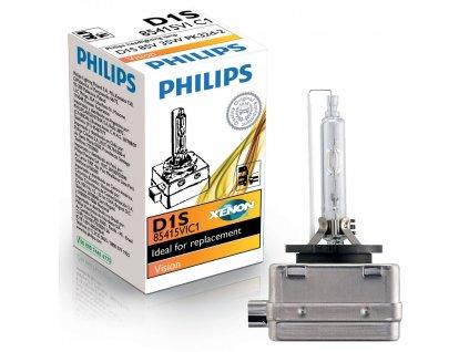 Výbojka xenónová D1S 85V 35W -PHILIPS Vision